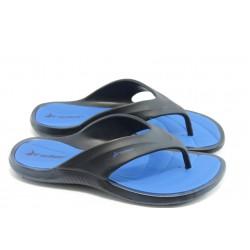 Мъжки бразилски анатомични чехли Rider 81523 сини