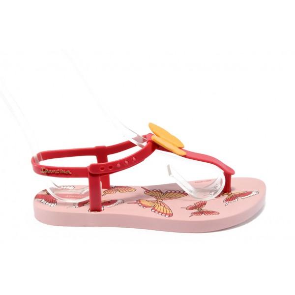 Детски бразилски сандалки Ipanema 81206 розово 31/36