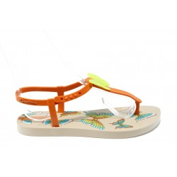 Детски бразилски сандалки Ipanema 81206 оранжево 31/36