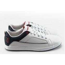 Юношески спортни обувки Jump 8801 бели