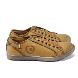 Мъжки спортни обувки Jump 6706 камел