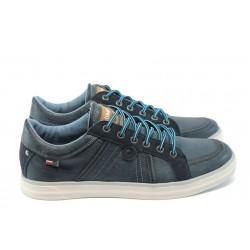 Мъжки спортни обувки на Bulldozer 5099 син