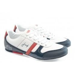 Мъжки спортни обувки Jump 9872 бял