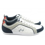 Мъжки спортни обувки Jump 9876 бели