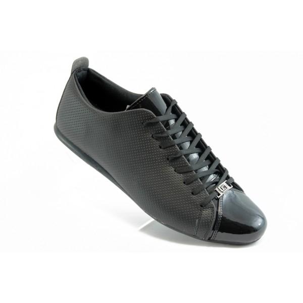 Спортни мъжки обувки ЛГ 601Черен-лак