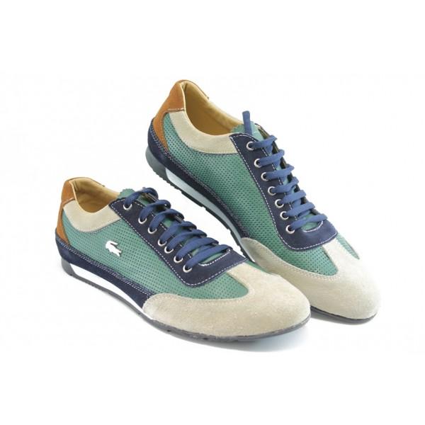Мъжки спортни обувки ЛК 2113 зелено