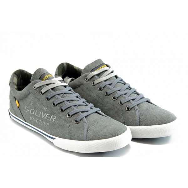 Мъжки спортни обувки S.Oliver 13618 сиво