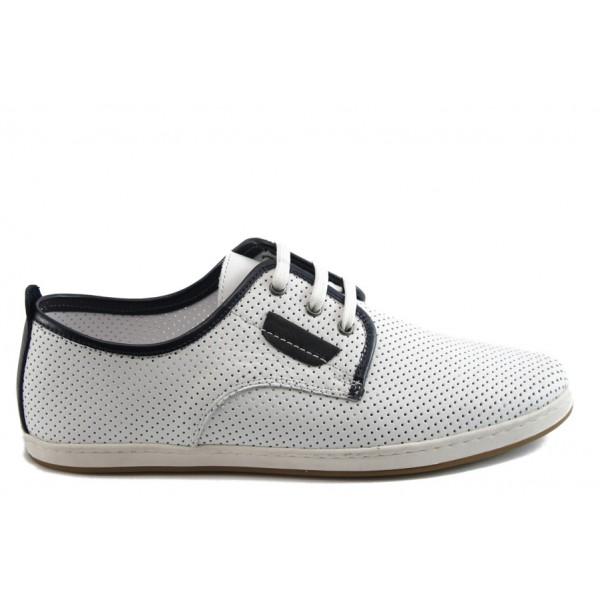Мъжки спортни обувки КО 48-361 бял