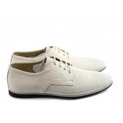 Мъжки спортно-елегантни обувки ФЯ 027 бежови