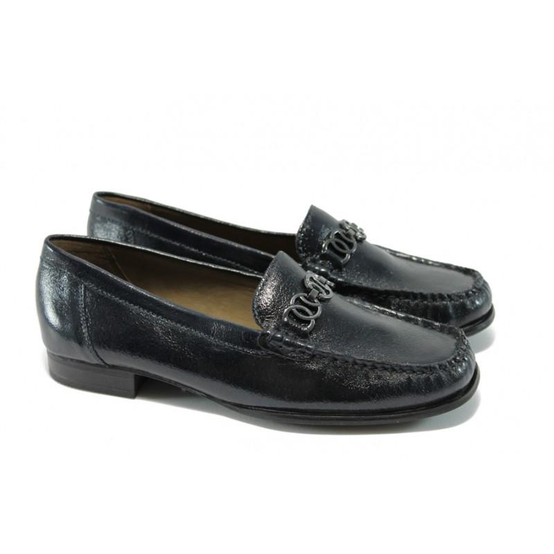 1ed71cc9860 Дамски обувки тип мокасина Caprice 9-24243-23 тъмно сини