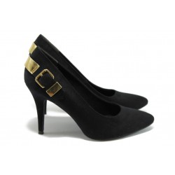 Елегантни дамски обувки Marco Tozzi 2-22404-23 черни