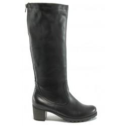 Дамски ботуши от естествена кожа Remonte D6082-01(H) черен ANTISHOKK