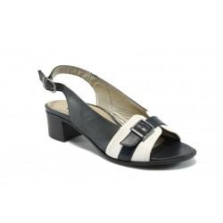 Дамски сандали на среден ток Remonte R4960-14 т.син
