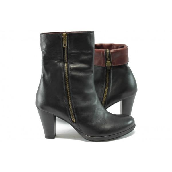 Дамски елегантни обувки на висок ток Remonte D0970-01 черен