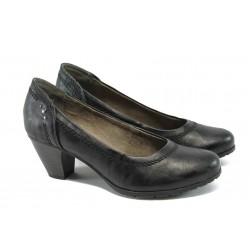 Дамски обувки на ток Jana 8-22460-24 черен