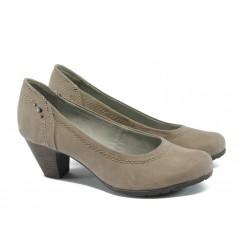 Дамски обувки на ток Jana 8-22465-24 таупе
