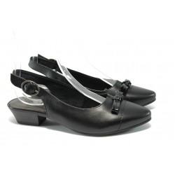 Анатомични дамски обувки с мемори пяна Jana 8-29400-24 черен