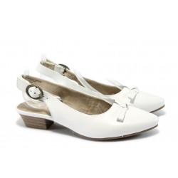 Анатомични дамски обувки с мемори пяна Jana 8-29400-24 бял