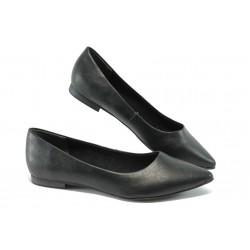 Равни дамски обувки Marco Tozzi 2-22112-34 черен