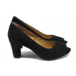 Дамски обувки на висок ток Caprice 9-29200-24 черен ANTISHOKK