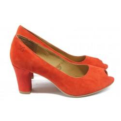 Дамски обувки на висок ток Caprice 9-29200-24 червен ANTISHOKK