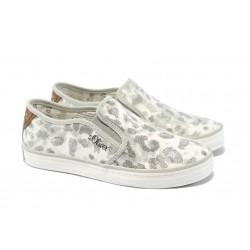 Дамски спортни обувки с мемори пяна S.Oliver 5-24604-24 леопард