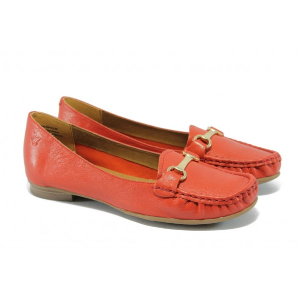 Дамски обувки тип мокасина Caprice 9-24205-24 червен