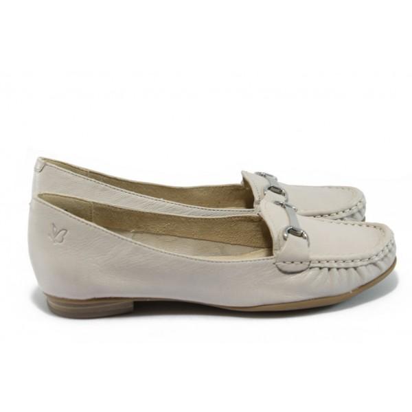 Дамски обувки тип мокасина Caprice 9-24205-24 св.бежов