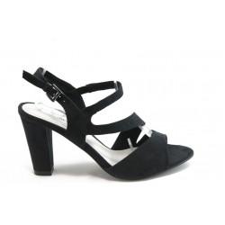 Дамски сандали на висок ток Marco Tozzi 28316 черно