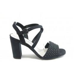 Дамски сандали на висок ток Marco Tozzi 28303 черно