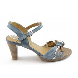 Дамски сандали на ток Caprice 28302 синьо ANTISHOKK