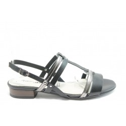 Дамски сандали на нисък ток Tamaris 28179 черна