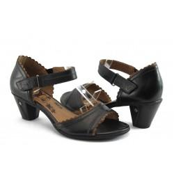 Дамски сандали на среден ток Jana 28322 черно