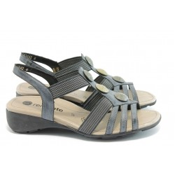 Дамски ежедневни сандали Remonte R5258-11 черно