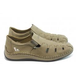 Мъжки летни обувки с прорези Rieker 05285-60