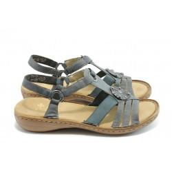 Дамски сандали с ластик Rieker 60869-14