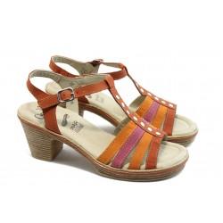 Дамски сандали на среден ток Caprice 28755