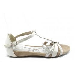 Дамски анатомични сандали Jana 28105 бели