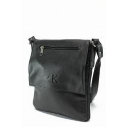 Стилна мъжка чанта АИ 268 черен