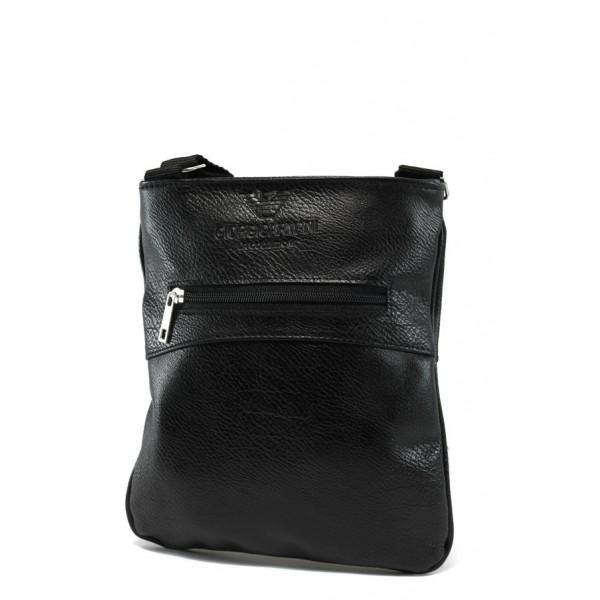 Стилна мъжка чанта АИ 80 черен