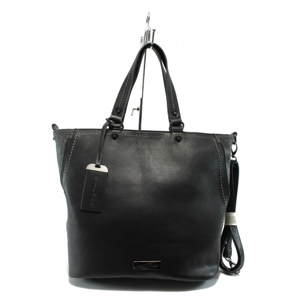 Дамска чанта Marco Tozzi 2-61106-25 черна