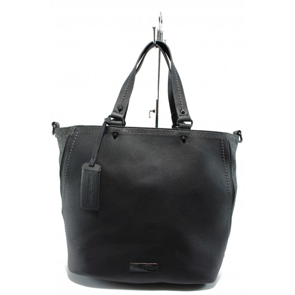 Дамска чанта Marco Tozzi 2-61106-25 син