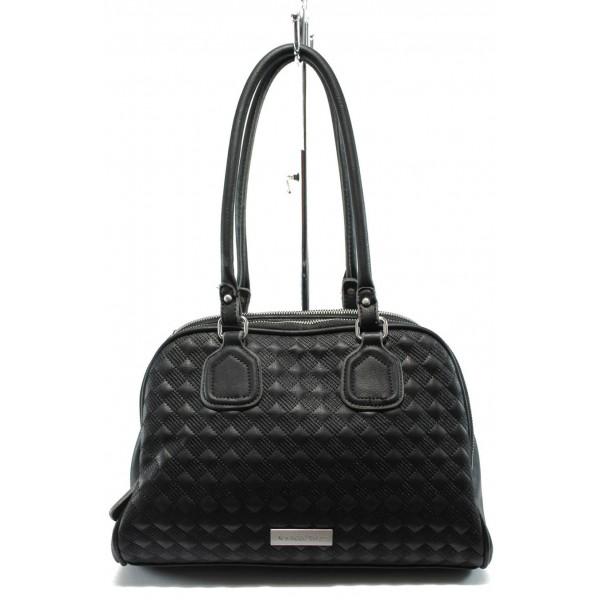 Дамска чанта Marco Tozzi 2-61110-25 черен