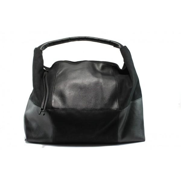 Българска дамски чанта /тип торба/ СБ 1126 черен