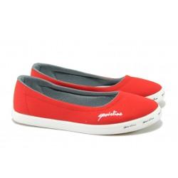Дамски спортни обувки МИ 7210 червен
