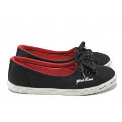 Дамски спортни обувки МИ 7209 черен