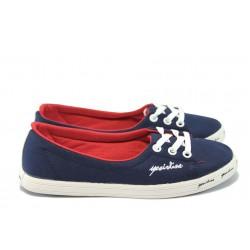 Дамски спортни обувки МИ 7209 т.син