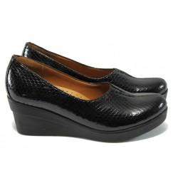 Дамски ортопедични обувки на платформа XXL МИ 721-314 черен 40/43