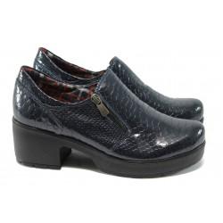 Дамски ортопедични обувки МИ 758-125 син