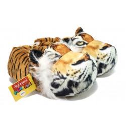 Мъжки анатомични домашни пантофи ДФ Jungmxi61 тигър